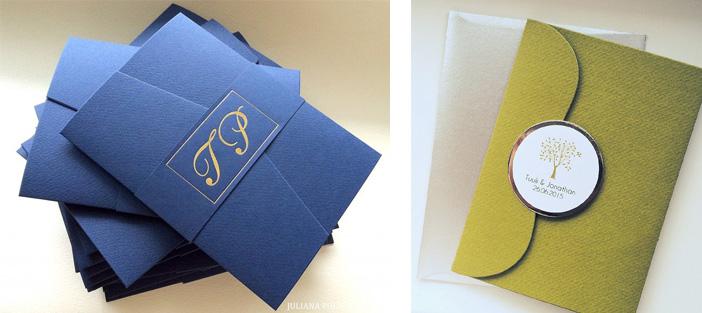 Свадебное пришлашение в виде конверта