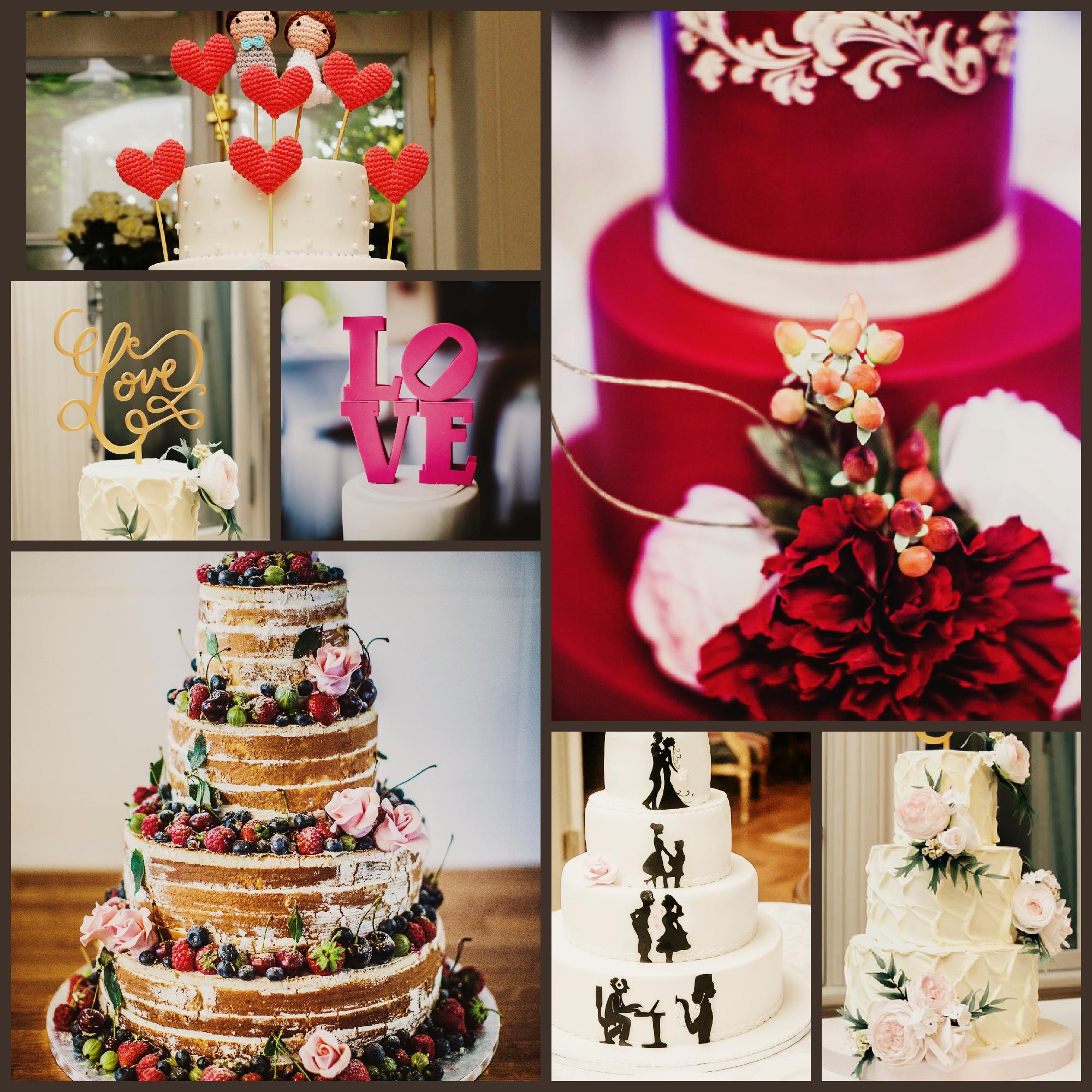 Все свадебные торты на фото выполнены кондитерам по заказу Perfect Day